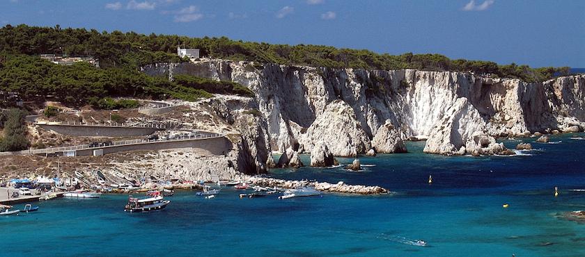 le spiagge di San Domino