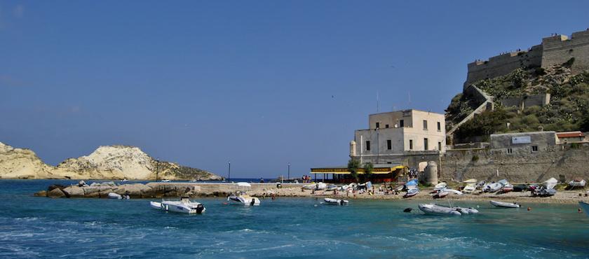 isole Tremiti a Ferragosto