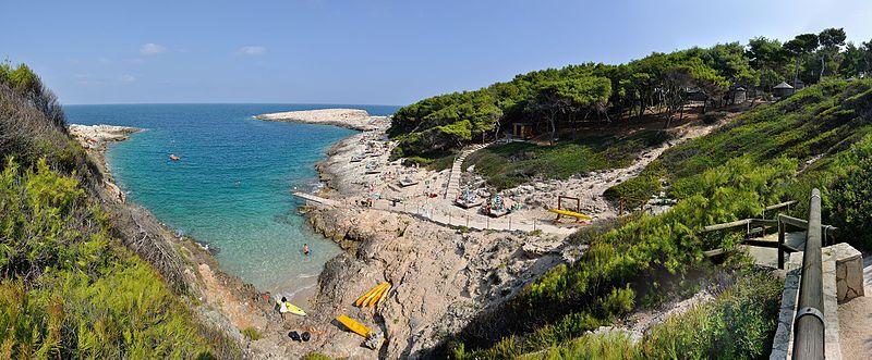 isole Tremiti piscina naturale